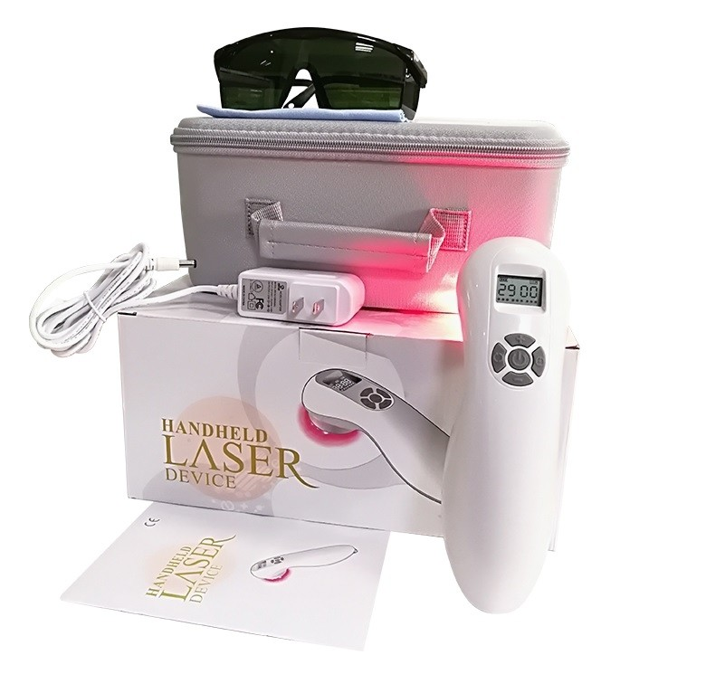 HD-MAX Cold Laser Therapy Device for Pain Relief - Red Light Therapy for Back Pain, Arthritis Pain Relief. Hand Held Laser For Home Use